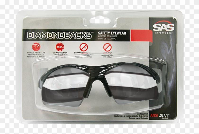 Sas Diamondback Safety Glasses - Goggles Clipart #4103393