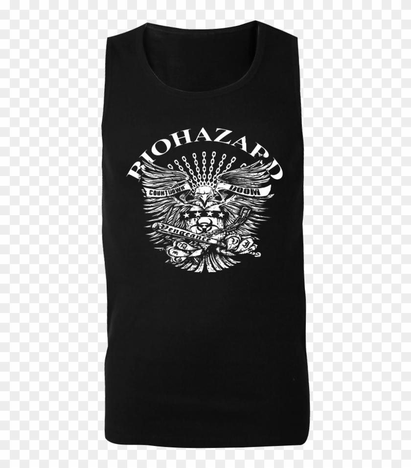 "Biohazard ""eagle"" Tank Shirt - Active Tank Clipart #4104943"