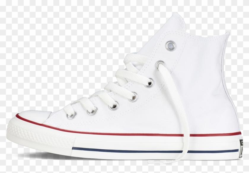 Converse Chuck Taylor All Star Hi - Giày Converse Trắng Cao Cổ Clipart #4105268