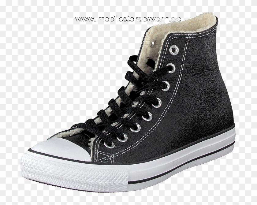 Converse All Star Shearling Hi Black/white - Chuck Taylor All-stars Clipart #4105366