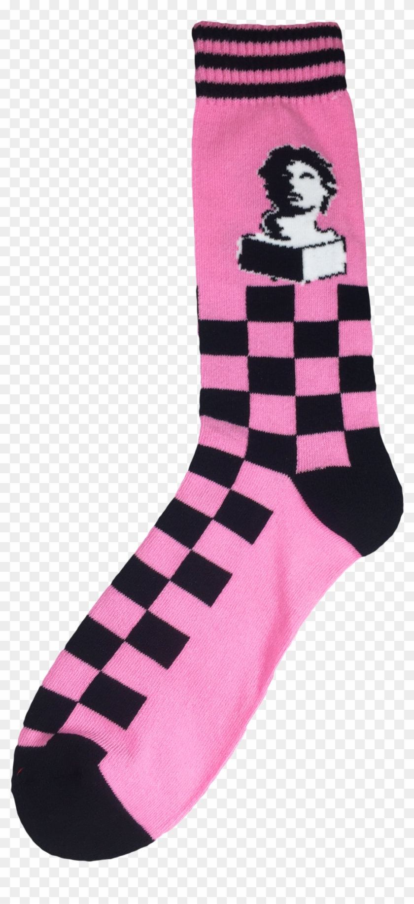 Vaporwave Aesthetic Macintosh Plus Crew Sock Clipart 4107032