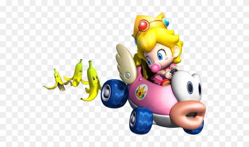 Mario Kart Wii Png Baby Princess Peach Mario Kart Clipart