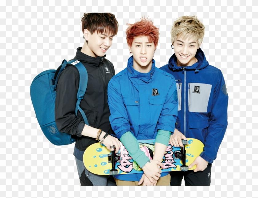 """mark, Yugyeom And Jb Png Reblog/like If You - Got7 Mark Jb Yugyeom Clipart #4109433"
