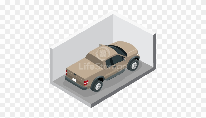 Auto Storage At Life Storage - 10 X 20 Parking Spot Clipart #4109605