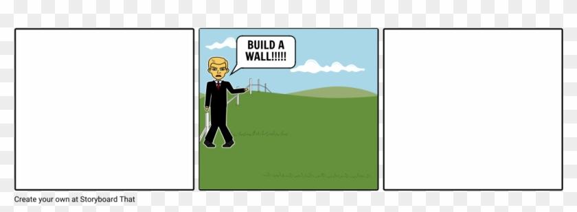 Donald Trump Political Cartoon - Cartoon Clipart #4110776