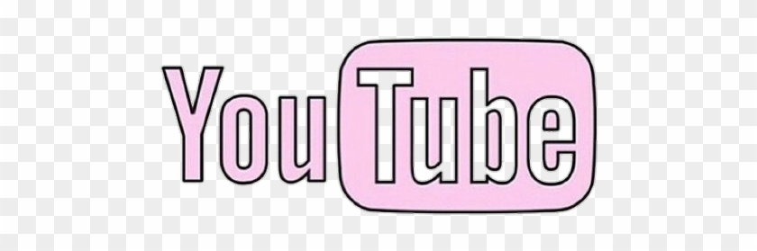 Youtube Pink Pembe 귀여운 Cute Kawaii Logo De Youtube Png