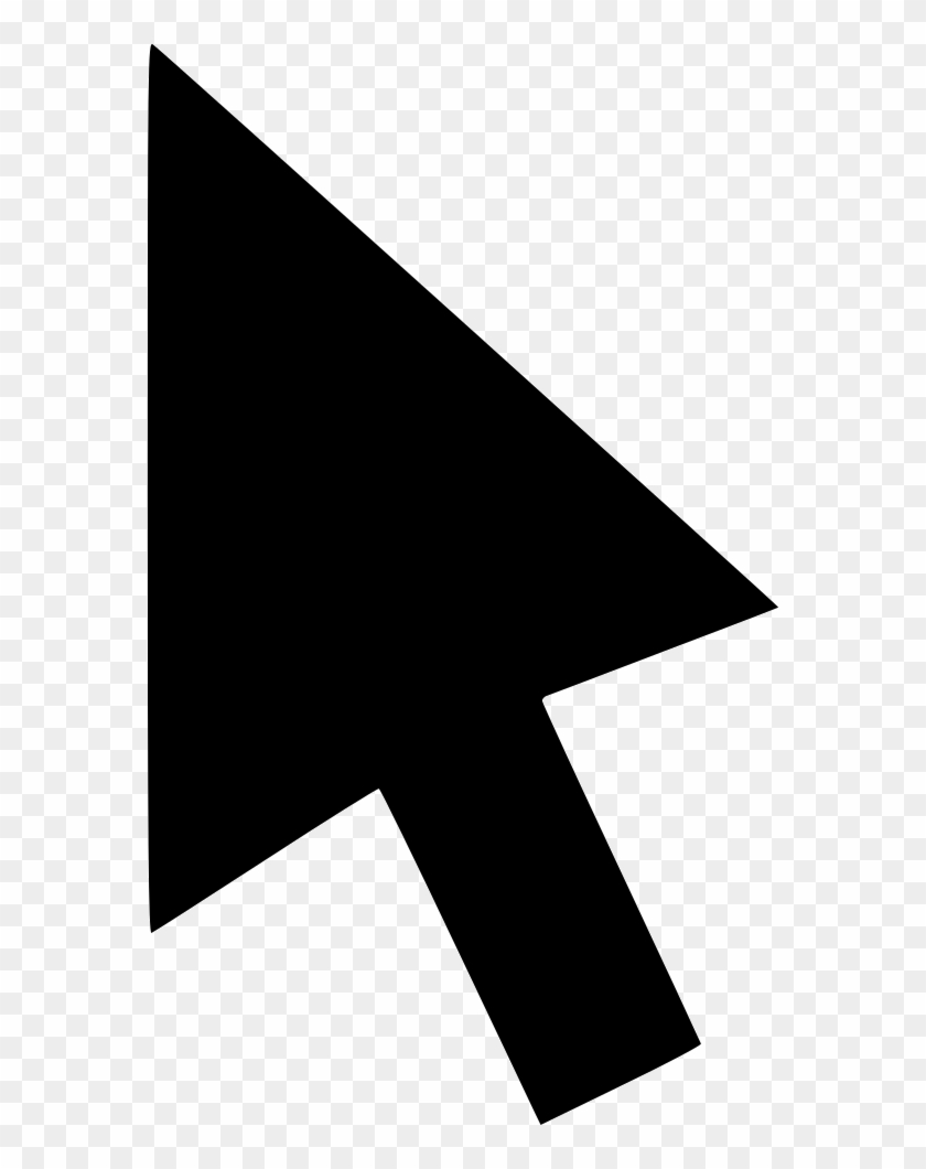 Png File - Mouse Arrow Icon Png Clipart #4122358