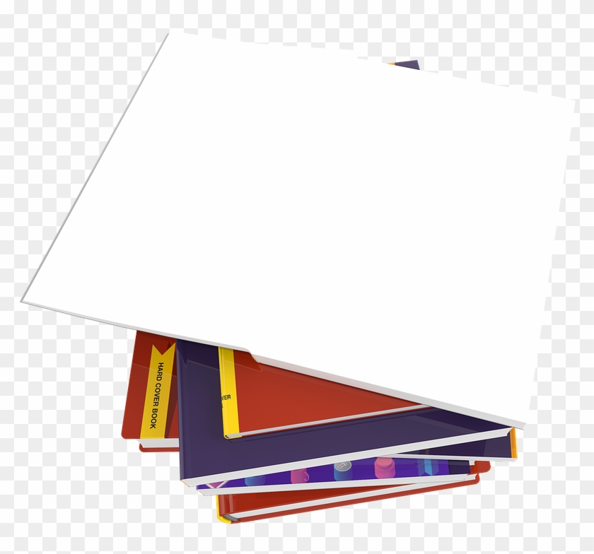 Books Template Book Notebook Write Read Education - Paper Clipart #4125237