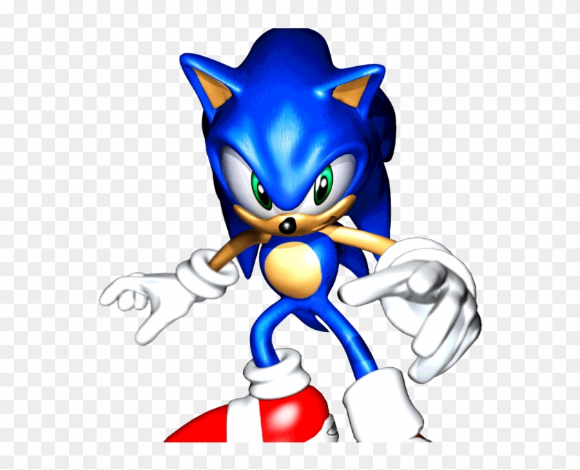 #sonic 3d 2 From The Official Artwork Set For #sonicadventure - Sonic Adventure Dx Sonic Clipart #4141068