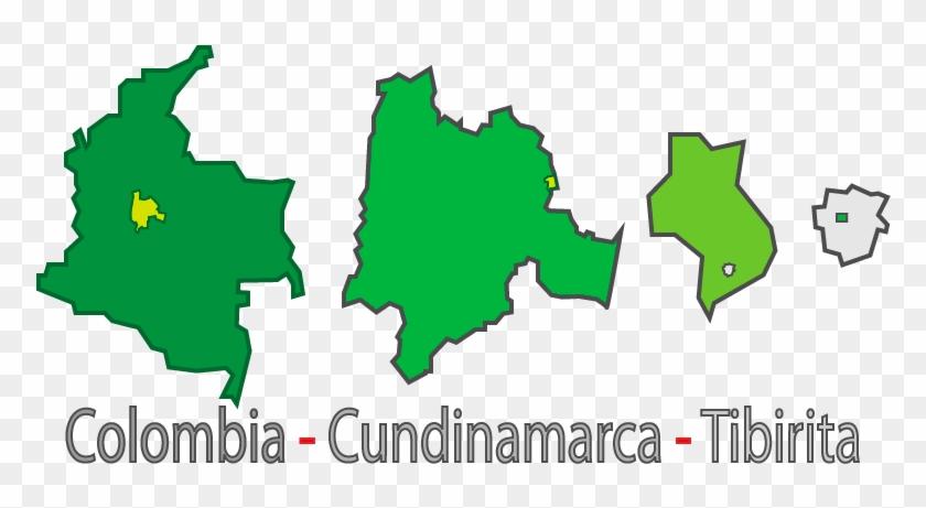 Tibirita Es Un Municipio De Cundinamarca, Ubicado En - Ubicacion De Cundinamarca En Colombia Clipart #4153238