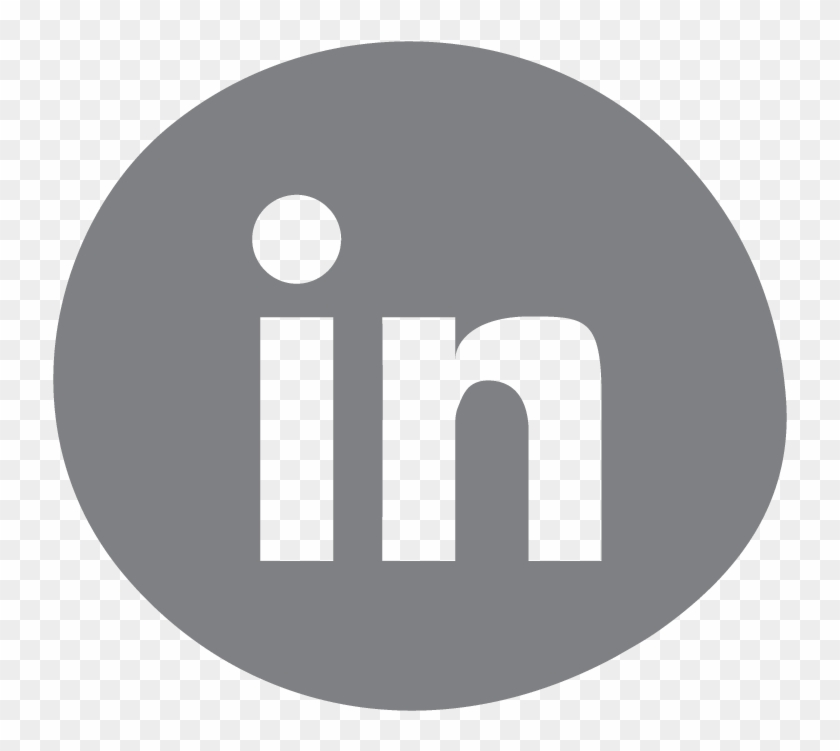 @sairamdesai - Linkedin - Facebook Vector Grey Png Clipart #4156108