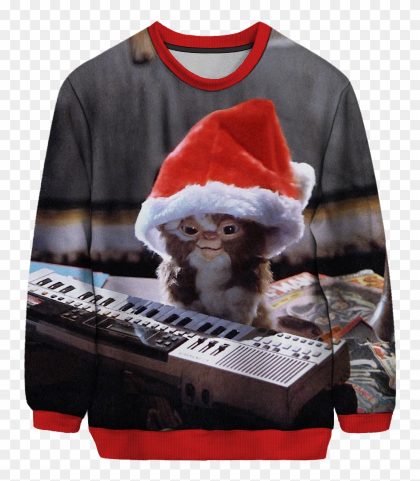 Gremlins All I want For Christmas Is Gizmo Sweatshirt Jumper Festive Sweater