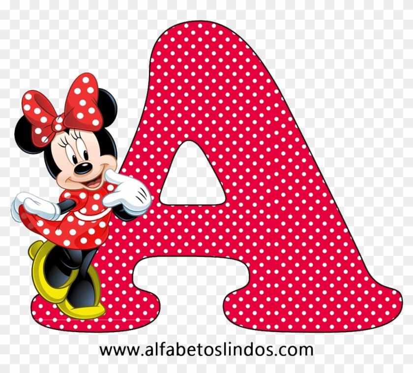 Amplie As Imagens Do Alfabeto Decorativo Da Minnie - Biografia De Minnie Mouse Clipart #4165459