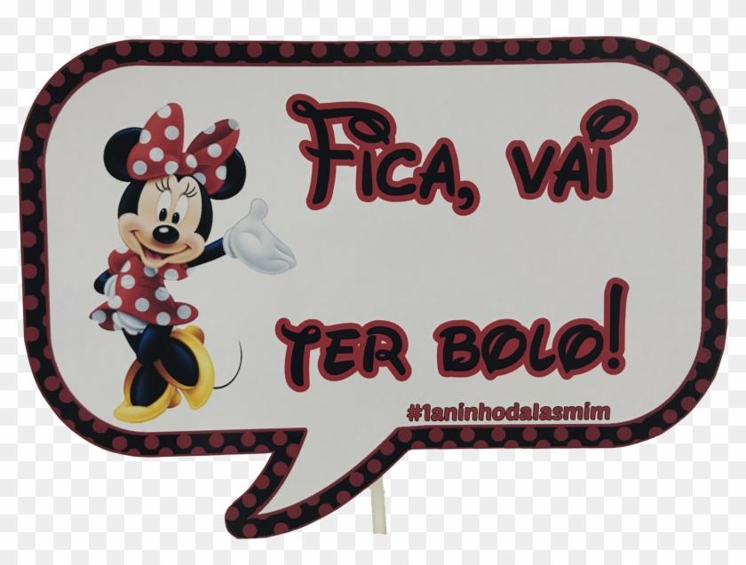 Plaquinha De Selfie Minnie Mouse Clipart 4165557 Pikpng