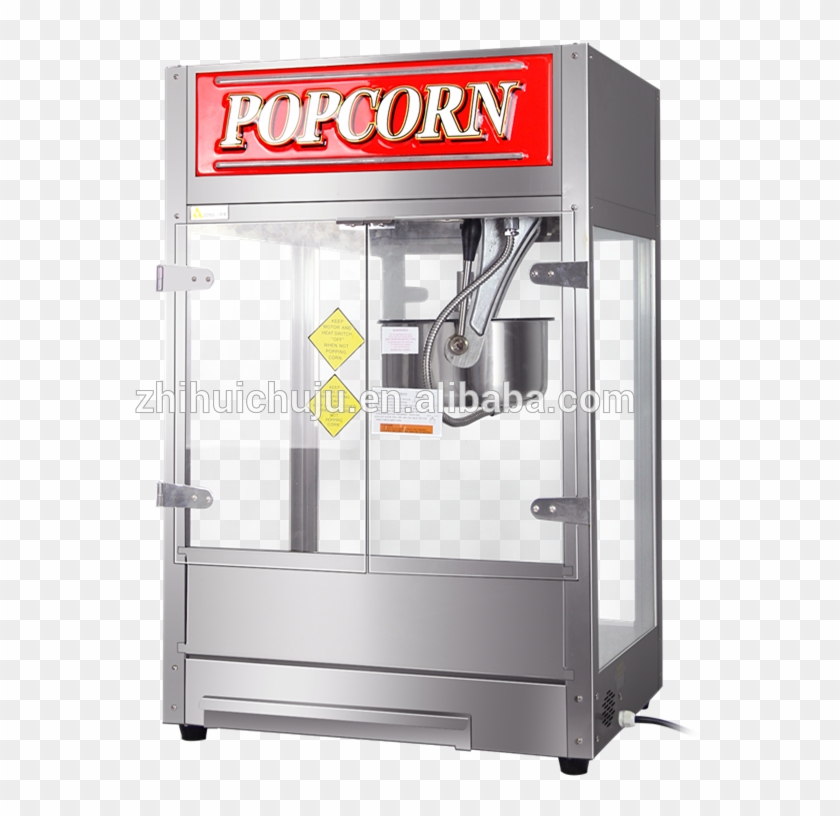 Ce 16 Oz Commercial Kettle Popcorn Machine Made In - Popcorn Clipart #4170061