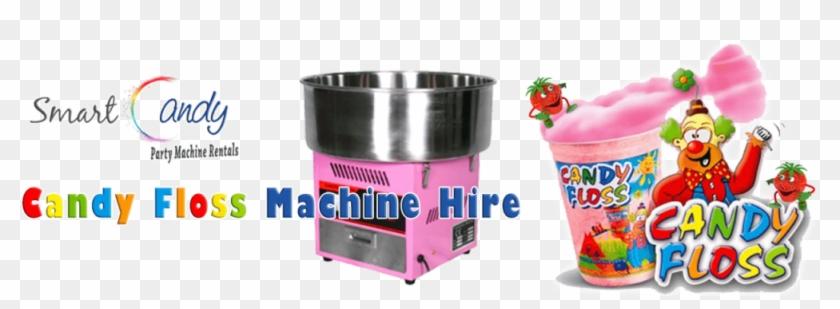 Candy Floss Machine Hire Pretoria - Strawberry Clipart #4170172