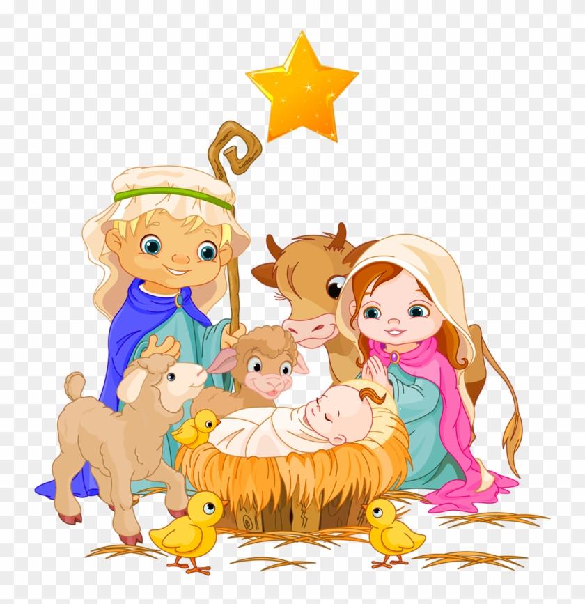 Christmas Nativity Scene Clipart Free