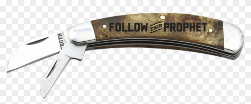Follow The Prophet Pocket Knife - Needle-nose Pliers Clipart #4174554