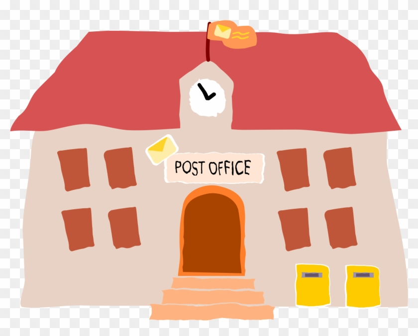 This Free Icons Png Design Of Crooked Post Office 1 - Post Office Clip Art Png Transparent Png #4176342