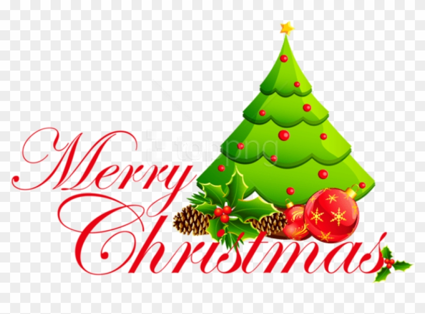 Free Png Transparent Merry Christmas Tree Png Merry Christmas Christmas Tree Clipart 4176471 Pikpng