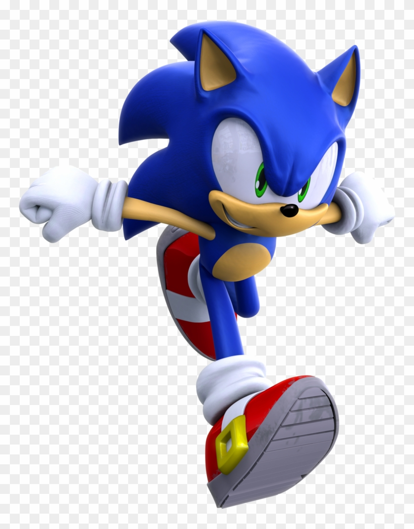 Running By Https - Sonic Unleashed Modern Sonic Clipart #4185204