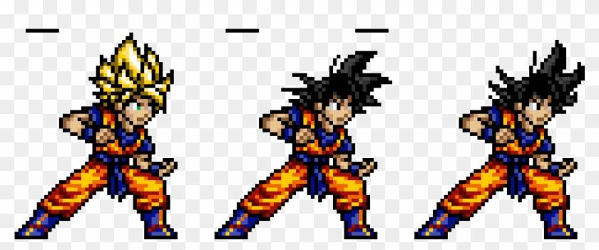 Dragon Ball Z - Goku Jump Ultimate Stars Clipart #4194106