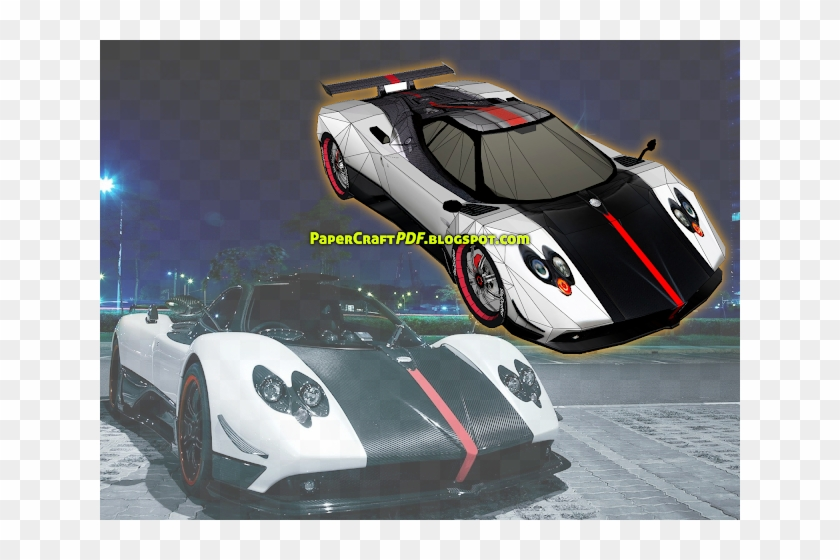 Download Free Paper Craft Pdf Templates Online Free - Sports Cars In The City Clipart #4195686