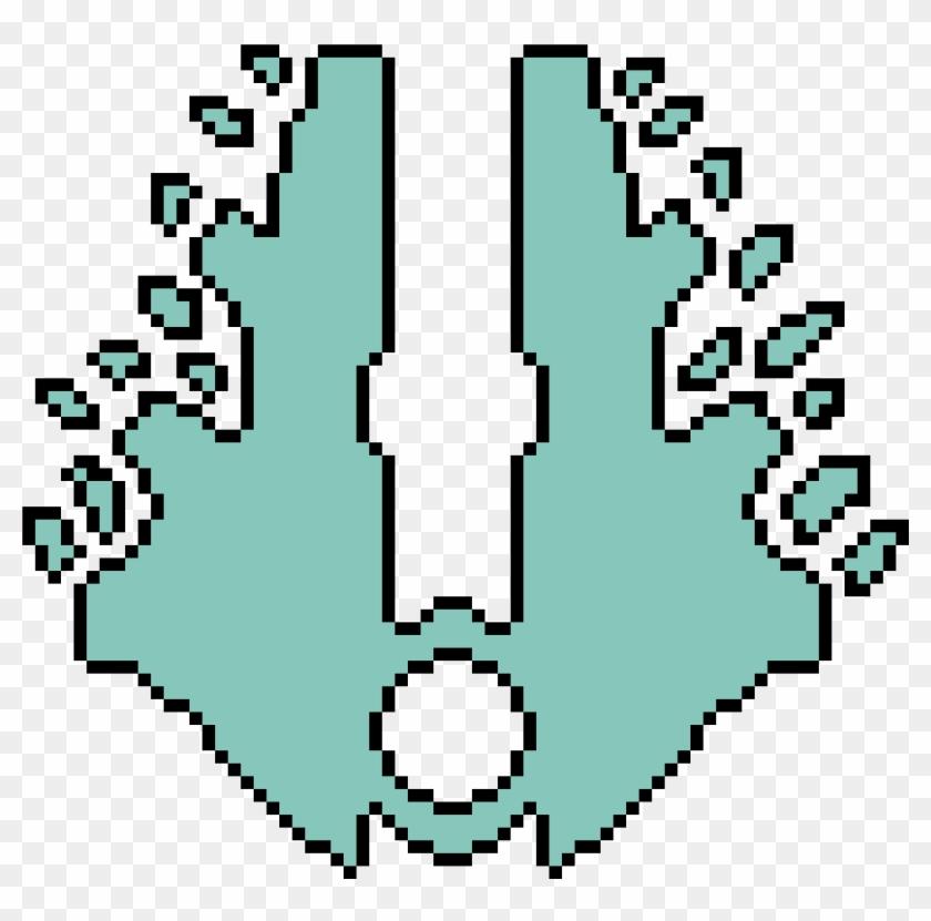 Covenant Symbol - Halo Legacy - Pixel Art Circle Clipart #4195935