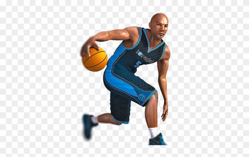 Virtual Basketball League - Sport Player On Png Clipart #422359