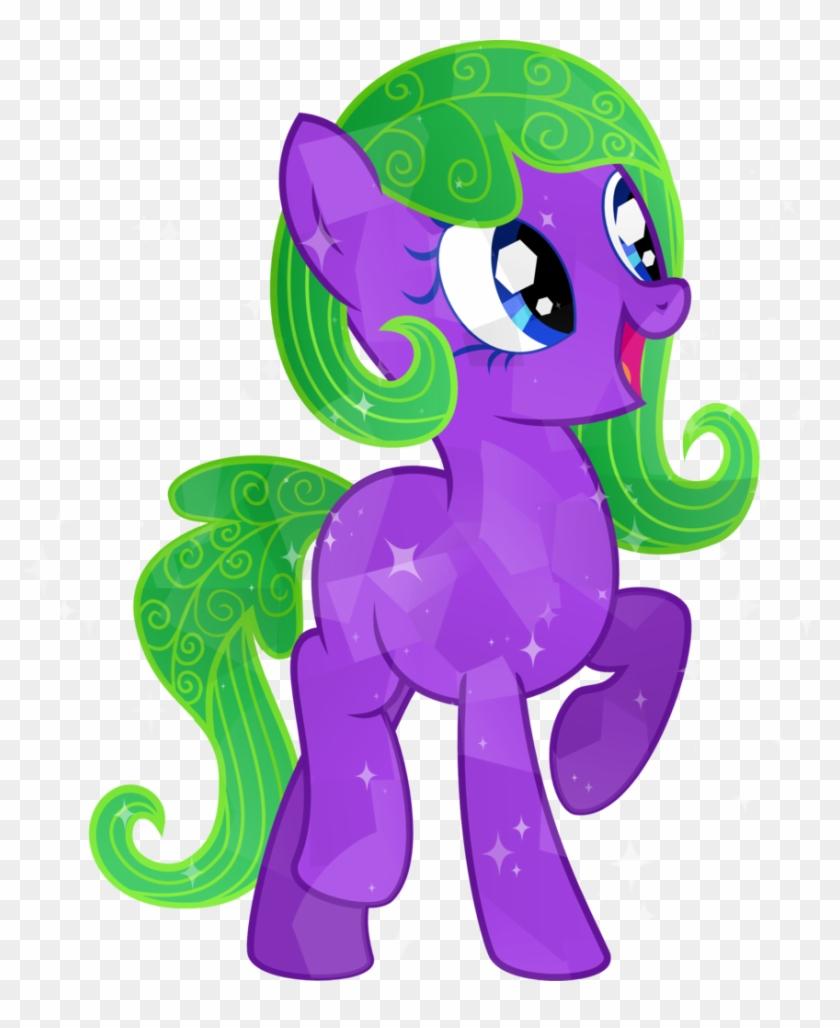 Tacobender, Blue Eyes, Commission, Crystal Pony, Cute, - Illustration Clipart #425340