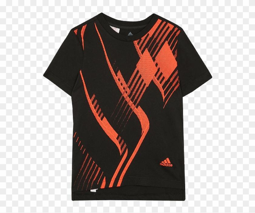 Black Predator T-shirt - Adidas Predator T Shirt Clipart #426273