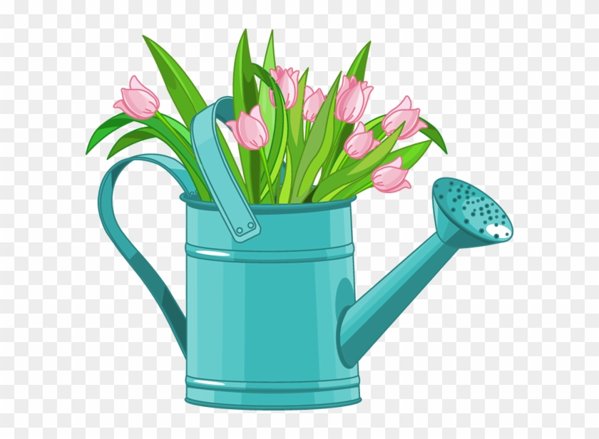 Clip Royalty Free Library Web Design Development Clip - Spring Watering Can Clip Art - Png Download #426606