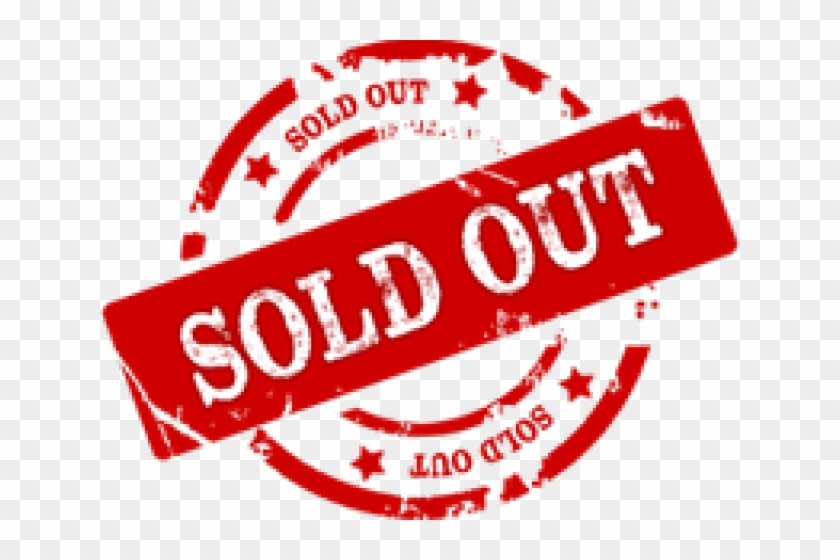 Sold Out Png Transparent Images - Sold Out Png Clipart #426808