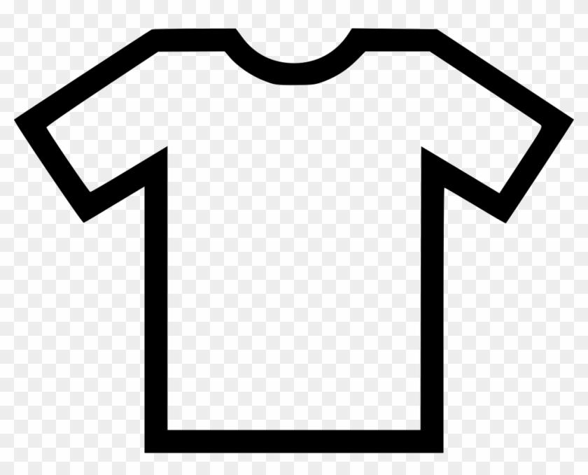 Plain T Shirt Comments - T Shirt Icone Png Clipart #428231