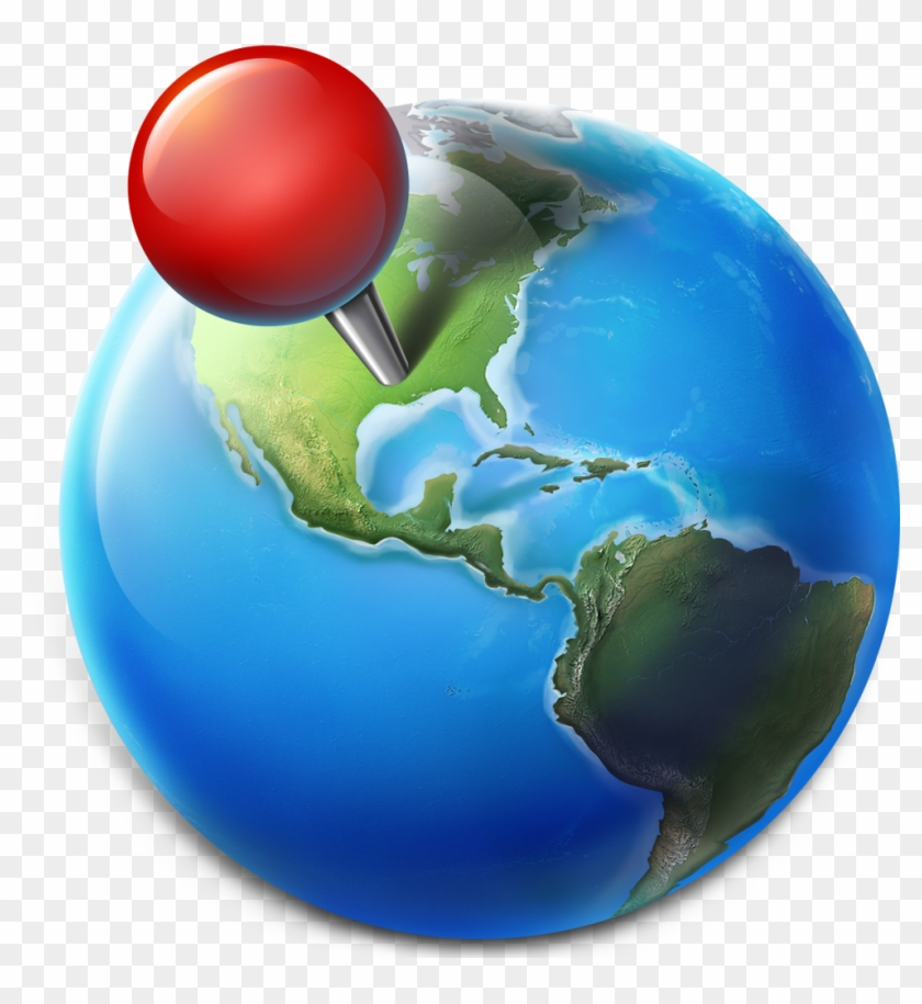 Blue Planet On The Mac App Store Cool Maps Icons Png Clipart 4200278 Pikpng