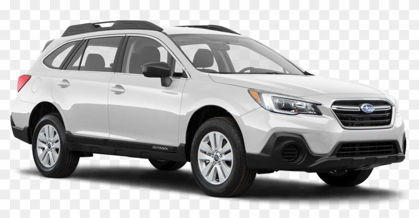 Crystal White Pearl - White Subaru Outback 2018 Clipart #4203859
