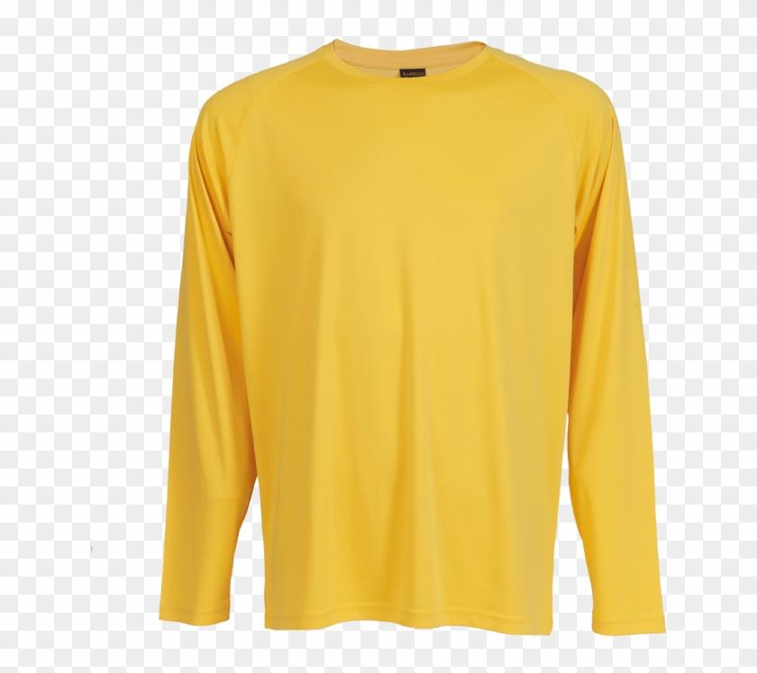 Tsl135b 135g Long Sleeve Polyester T-shirt , Tsl135b - Long-sleeved T-shirt Clipart #4205391