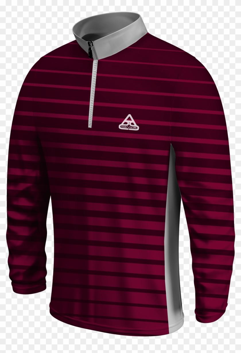 Bsk Ss Lscoll 04 Front - Long-sleeved T-shirt Clipart #4205522
