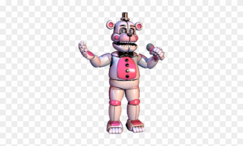 Funtime Freddy No Bonbon Clipart 4208885 Pikpng
