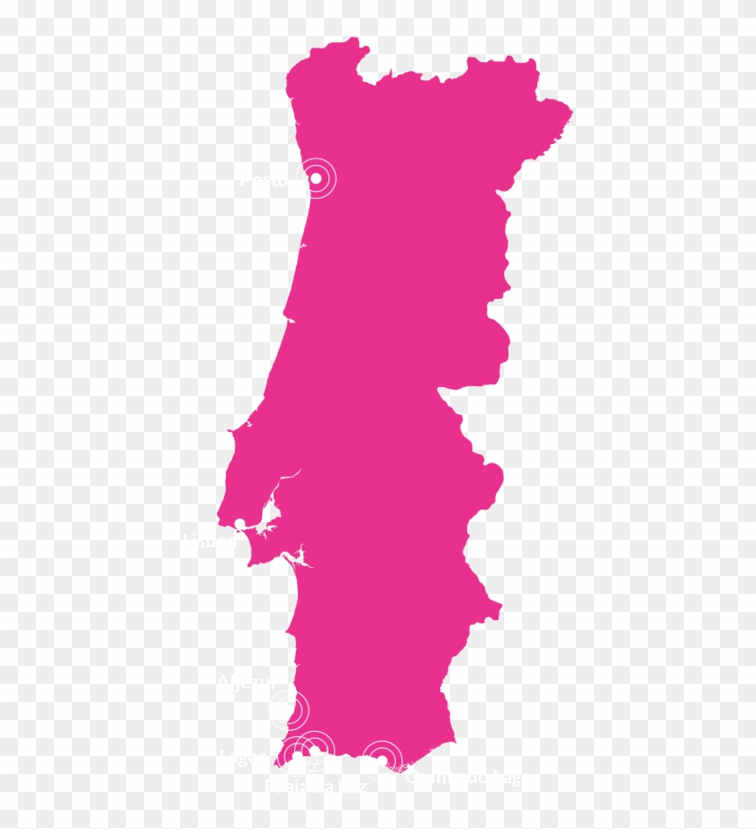 Chestertons Portugal - Elevation Map Of Portugal Clipart #4209560