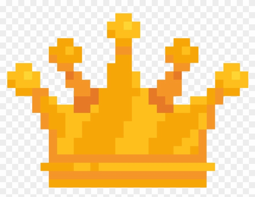 Crown Yellow Golden Pixel Pixels Freetoedit Pixel Art