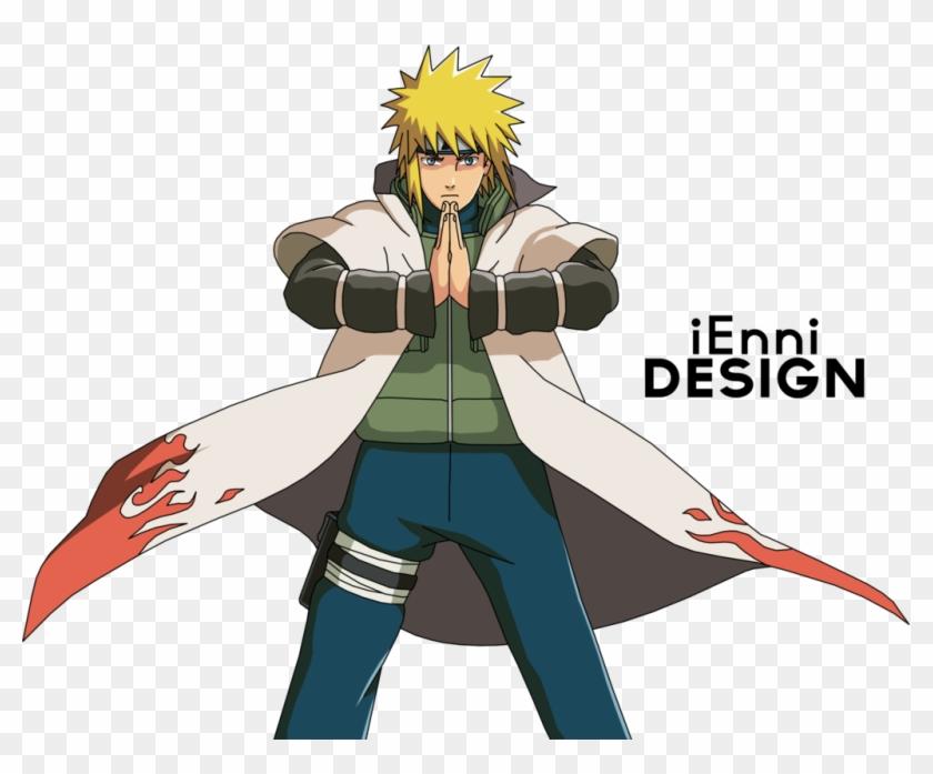 18cm Naruto Fourth Hokage Yondaime Namikaze Minato Kunai With Leather Case