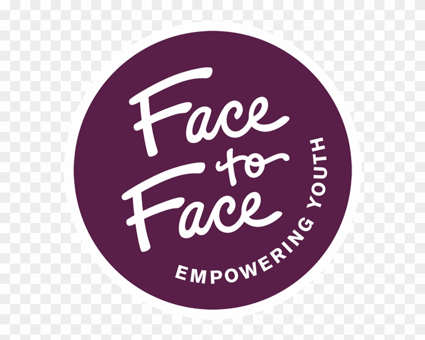 Face To Face Logo - Calligraphy Clipart #4229489