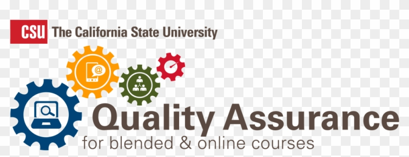 Qa Logos Co-02 - Online Course Quality Clipart #4235356