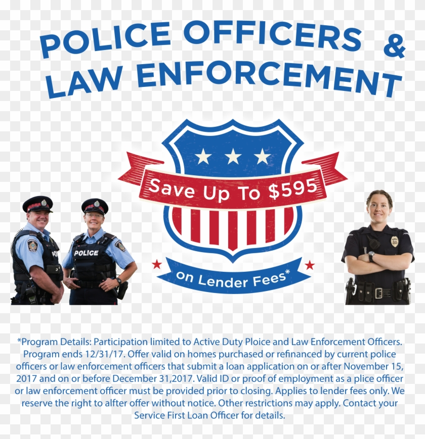 We Support Our Local Law Enforcement And Thank You - Banner Clipart #4243396