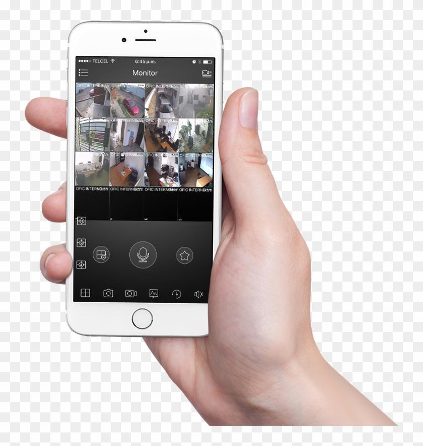 Cámaras De Seguridad , Png Download - Camaras De Seguridad En Celular Clipart #4247332