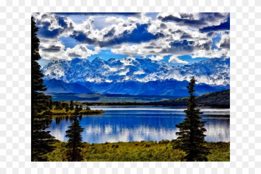 National Park Clipart Surreal - Denali National Park - Png Download #4253068