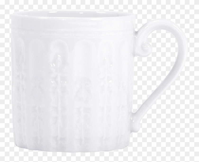 China Mug 12 Oz Of The Collection Louvre - Coffee Cup Clipart #4258521