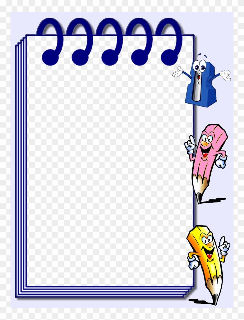 فصلًا دراسيا جديد مليئ بالجد والإجتهاد - School Clipart Frame - Png Download #4259224