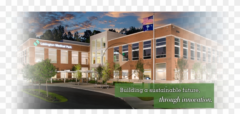 Sustainable Future - Commercial Building Clipart #4261785
